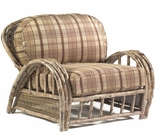 Whitecraft by Woodard River Run Wicker Lounge Chair