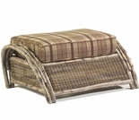 Whitecraft by Woodard River Run Wicker Ottoman