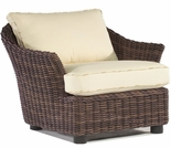 Whitecraft by Woodard Sonoma Wicker Lounge Chair