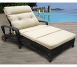 Wicker Forever Patio Catalina Double Adjustable Chaise Lounge