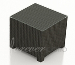 """Wicker Forever Patio Barbados 20"""" Square End Table"""