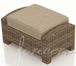 "Wicker Forever Patio Cypress 29.5"" x 20"" Rectangular Ottoman"