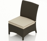 Wicker Forever Patio Hampton Dining Side Chair