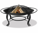 Wood Burning Round Outdoor Firebowl