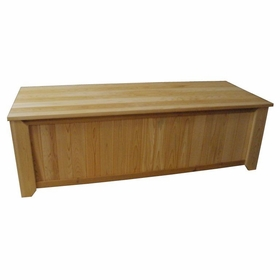 Wood Storage Bench - 6' - Exclusive Item