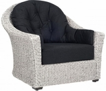 Whitecraft by Woodard Isabella Wicker Lounge Chair