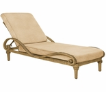 Whitecraft by Woodard South Shore Wicker Adjustable Chaise Lounge