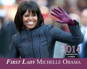 New!  2014 Michelle Obama Commemorative Wall Calendar - 28 Pages
