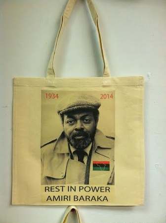 Amiri Baraka Rest in Power Tote Bag