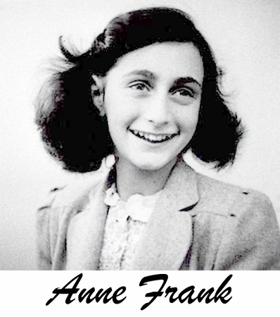 Anne Frank T-Shirt - 2 Sided