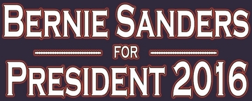 Bernie Sanders For President 2016 Bumper Stickers