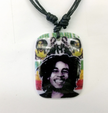 Bob Marley Collage Neckalce