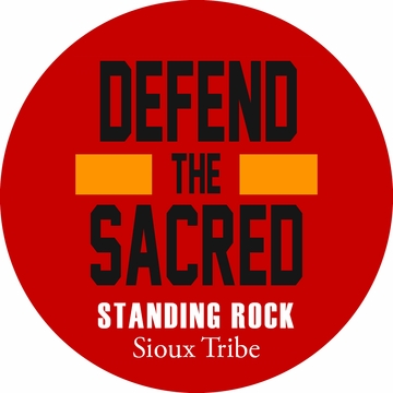 Brand New! Defend the Sacred Standing Rock Button!