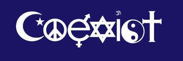Coexist Shirts, Buttons, Posters & Bumperstickers
