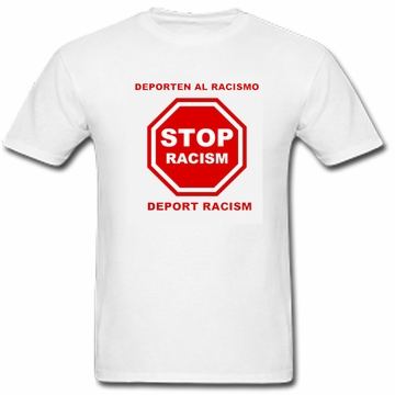 Deport Racism T-Shirt - Long and Short Sleeve