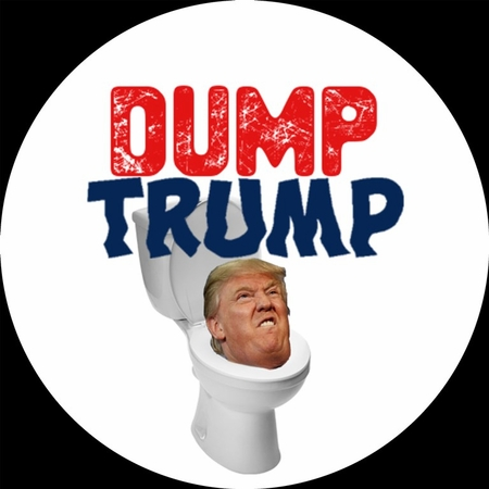 Dump Trump Button - Available in 3 Sizes