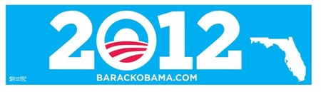 Florida Supports Obama in 2012