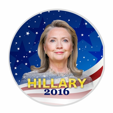 Hillary 2016 Button - Available in 3 Sizes!