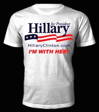 Hillary For President - I'M WITH HER! T-Shirt