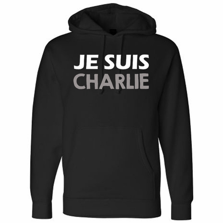 JE SUIS CHARLIE Hoodie - Show Your Solidarity!