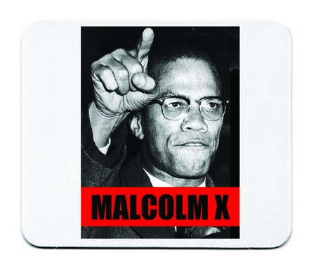 Malcolm X Mouse Pad-2