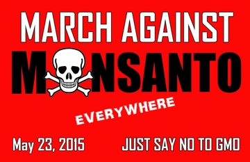 Activist Special! March Against Monsanto May 23 T-Shirt