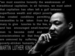Martin Luther King: Capitalism T-Shirt