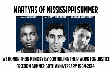 Martyrs Of Mississippi Freedom Summer T-Shirt