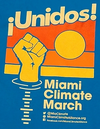 Miami Peoples' Climate March T-Shirt