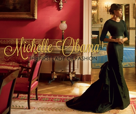 Michelle Obama First Lady Of Fashion Mousepad