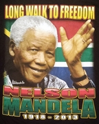 New! Nelson Mandela Walk to Freedom T-Shirt