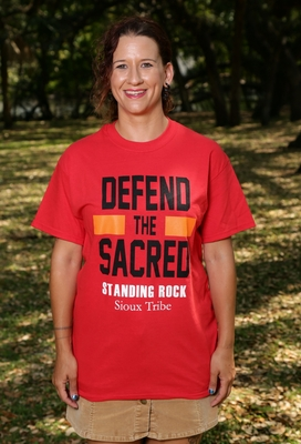 New! Defend the Sacred Standing Rock T-shirt!