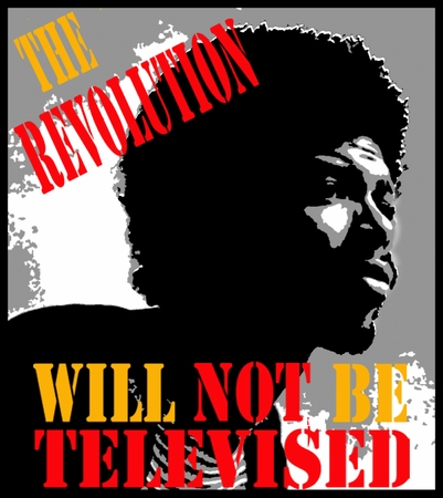 """New! Gil Scott Heron """"The Revolution Will Not Be Televised"""" T-Shirt"""