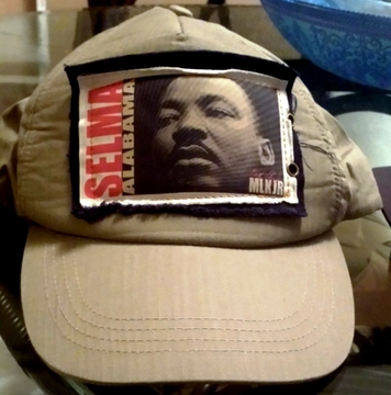 New! Martin Luther King Selma Khaki Baseball Cap - Adjustable, One Size Fits All!