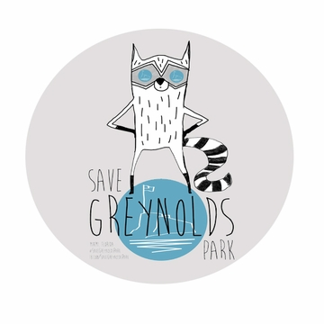 New Save Greynolds Park Button