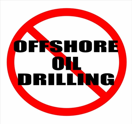 No Offshore Oil Drilling T-Shirt