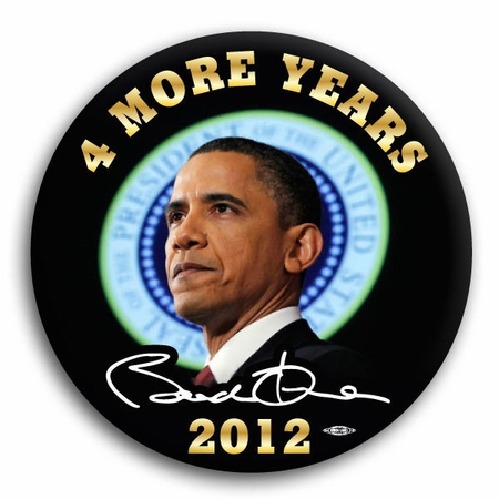 Obama 4 More Years Magnet