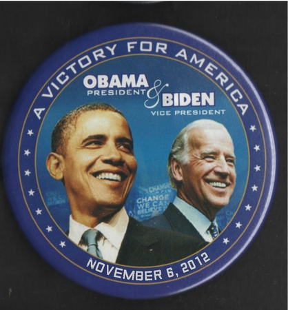 Obama Biden Victory For America Magnet 3""