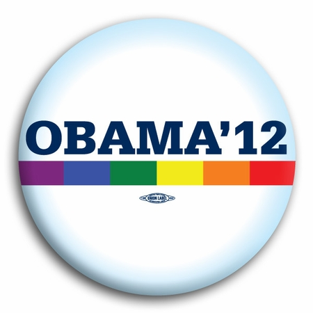 Obama for President 2012  Gay Lesbian Marriage LGBT Pride Magnet