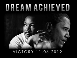 Obama, MLK Dream Achieved Shirt