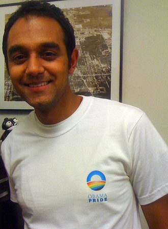 Obama Pride T-Shirt - Two Sided!