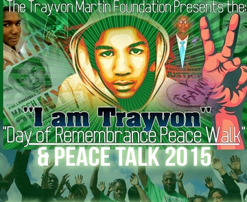 Trayvon Martin Day of Rememberance Peace Walk T-Shirts & Hoodies