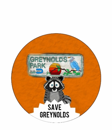 Save Greynolds Park Button Available In 3 Sizes