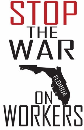 Stop The War on Florida Workers Shirt