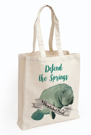 #StopSabalTrail Tote Bags