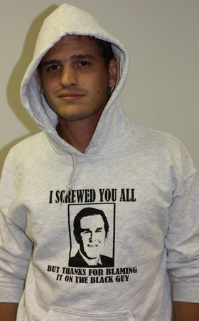 Thanks For Blaming The Black Guy  Hoodie