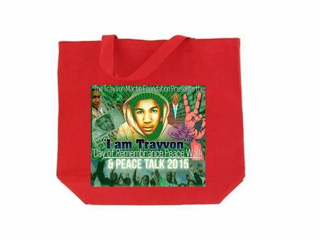 Trayvon Martin Day of Rememberance Peace Walk Tote Bag
