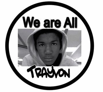 We Are All Trayvon Button