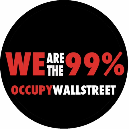 We Are The 99% Occupy Wall Street Button