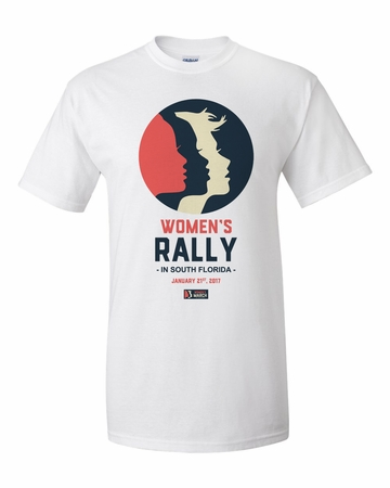Women's Rally in South Florida Solidarity with Women's March on Washington T-Shirt